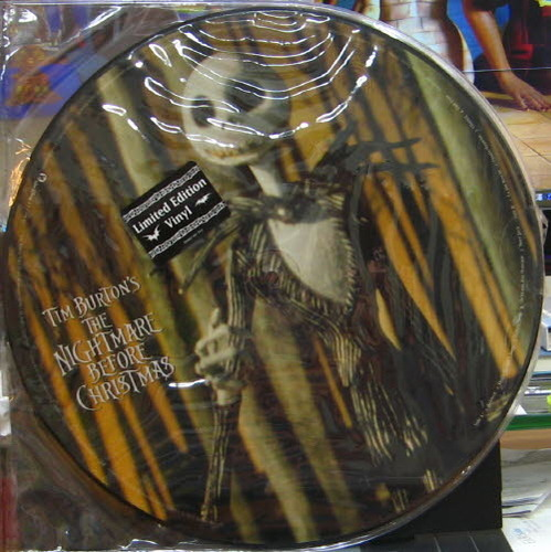 Nightmare Before Christmas-Tim Burton(크리스마스의 악몽 OST, picture disc)