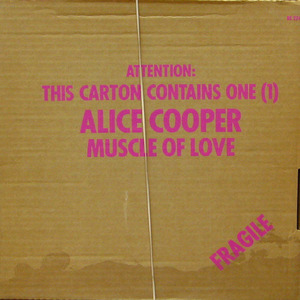 Alice Cooper/Muscle of Love(Carton Box)