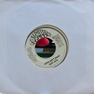 Barry White/Love Ain't Easy(7inch)