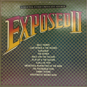 Various ‎– Exposed II: A Cheap Peek At Today's Provocative New Rock(2lp)