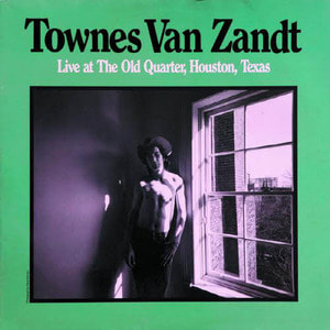 Townes Van Zandt/Live At The Old Quarter, Houston, Texas(미개봉 2lp)