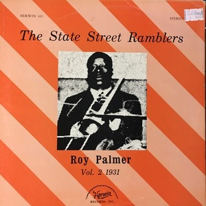 Roy Palmer - The state street ramblers